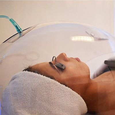 Korean Oxygen Dome Facial